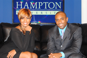 The View from Hampton U Hosts Kiva Davis and Aaron Smith.